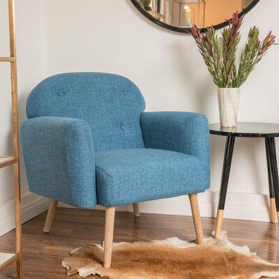 Hartford Armchair Color: Blue
