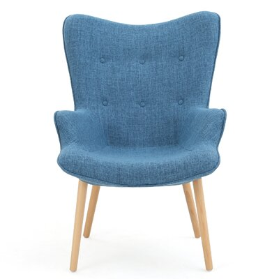 Columbus Armchair Upholstery: Blue