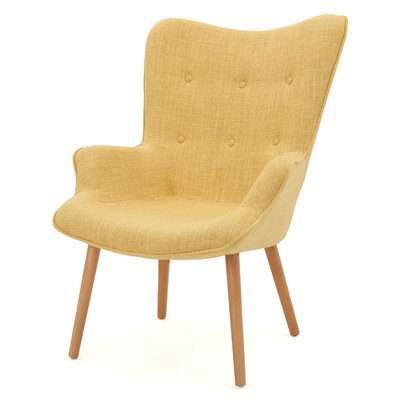 Columbus Armchair Upholstery: Yellow