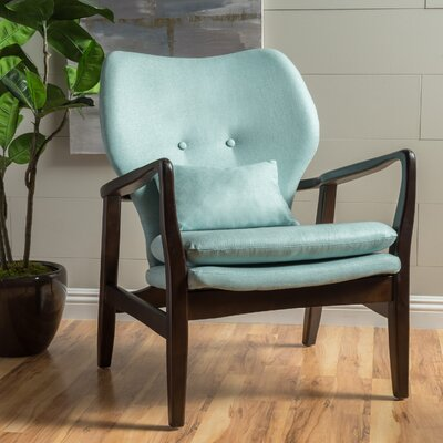 Birmingham Armchair Upholstery: Light Blue