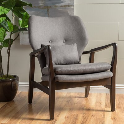 Birmingham Armchair Color: Dark Gray