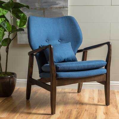Birmingham Armchair Color: Dark Navy