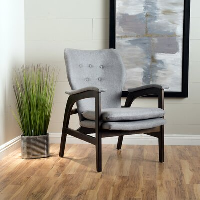 Palmdale Armchair Color: Gray
