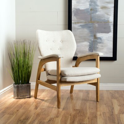 Palmdale Armchair Color: Wheat