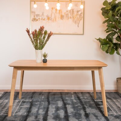Memphis Dining Table Finish: Natural Oak