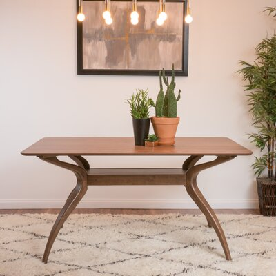 Paterson Dining Table Finish: Natural Walnut