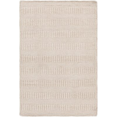 Savannah Hand-Loomed Khaki Area Rug