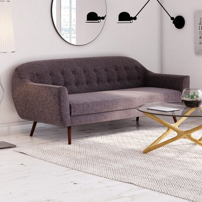 Canyon Sofa Upholstery: Charcoal