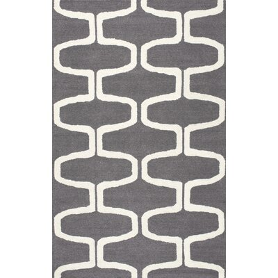 Hayward Hand-Tufted Gray Indoor Area Rug Rug Size: 4 x 6