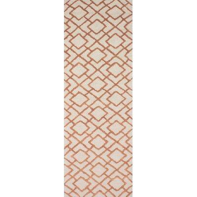 Berkeley Khaki/Beige Area Rug Rug Size: Runner 26 x 8