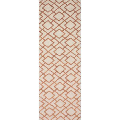 Berkeley Brown/Beige Area Rug Rug Size: Runner 26 x 8