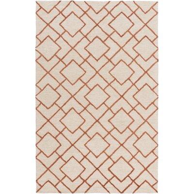 Berkeley Brown/Beige Area Rug Rug Size: 4 x 6