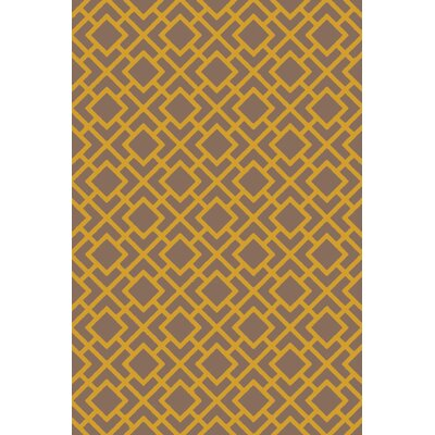 Berkeley Gold/Taupe Area Rug Rug Size: 3 x 5