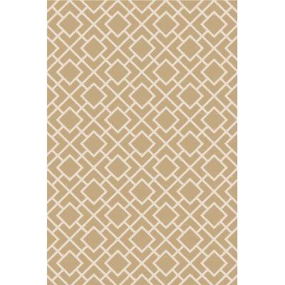 Berkeley Ivory/Beige Area Rug Rug Size: 3 x 5