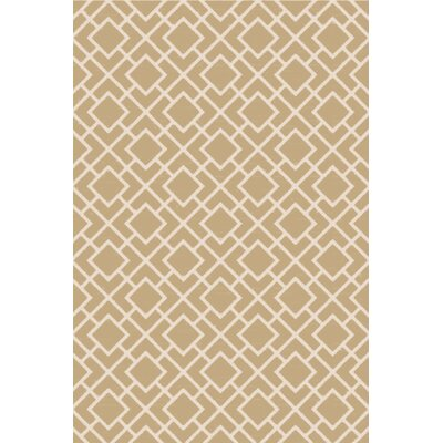 Berkeley Ivory/Beige Area Rug Rug Size: 6 x 9
