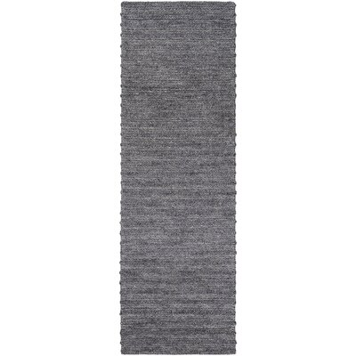 Vallejo Hand-Woven Area Rug Rug size: Runner 26 x 8