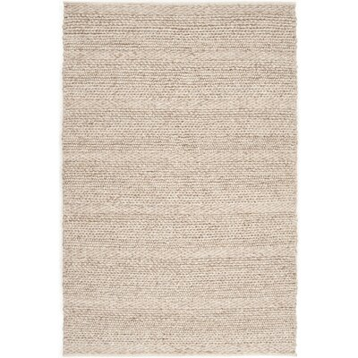 Jocelyn Hand-Woven Natural Area Rug Rug Size: Rectangle 5 x 8