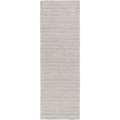 Vallejo Hand-Woven Camel Area Rug Rug size: Runner 26 x 8