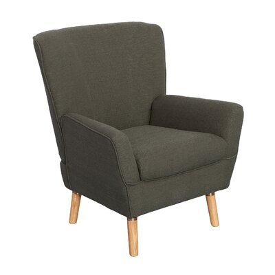 Tatum Arm Chair Upholstery: Army Green