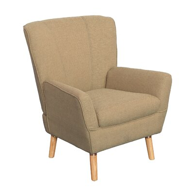 Tatum Arm Chair Upholstery: Beige