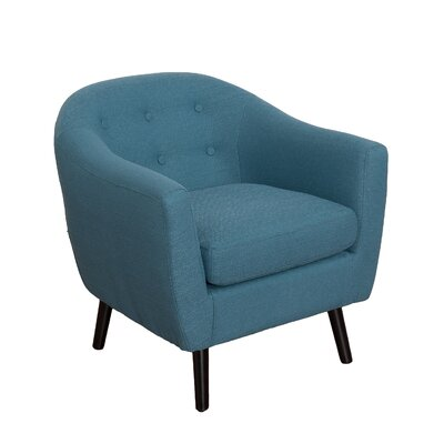 Aldgate Barrel Chair Upholstery: Blue