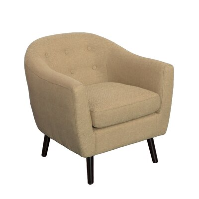 Aldgate Barrel Chair Upholstery: Beige