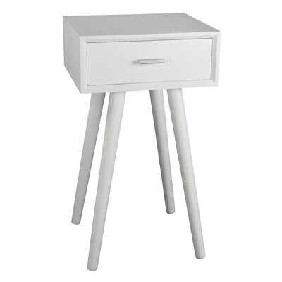 Baltimore End Table Finish: White