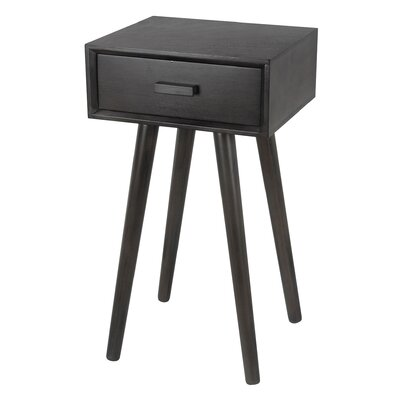 Baltimore End Table Finish: Black