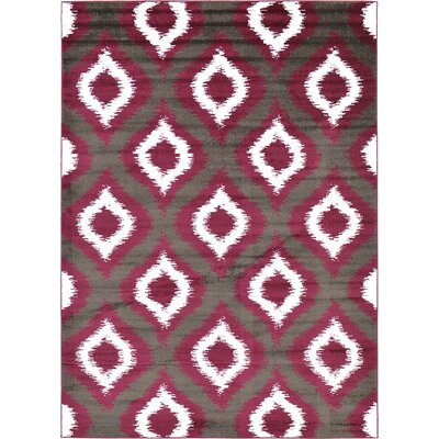 Hacienda Dark Gray Area Rug Rug Size: 8' x 11'2