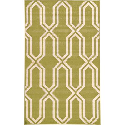 Hacienda Light Green Area Rug Rug Size: 9 x 12