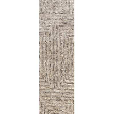 Sylvie Taupe Area Rug Rug Size: Runner 26 x 8