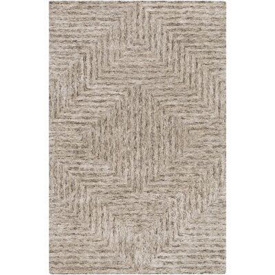 Sylvie Taupe Area Rug Rug Size: 6 x 9