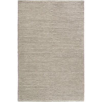 Daniella Hand-Woven Gray Area Rug Rug Size: Rectangle 2 x 3