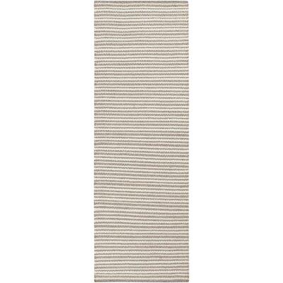 Tercero Hand-Woven Cream/Camel Area Rug Rug size: Runner 2'6