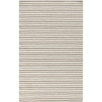 Tercero Hand-Woven Cream/Camel Area Rug Rug size: 3'3
