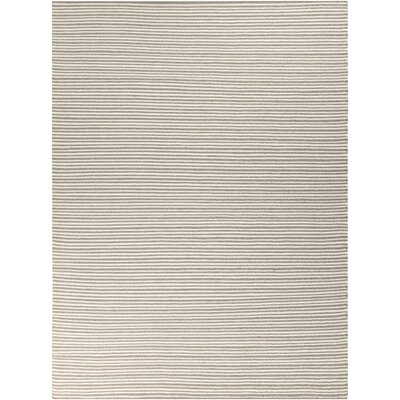 Tercero Hand-Woven Cream/Camel Area Rug Rug size: 8' x 11'