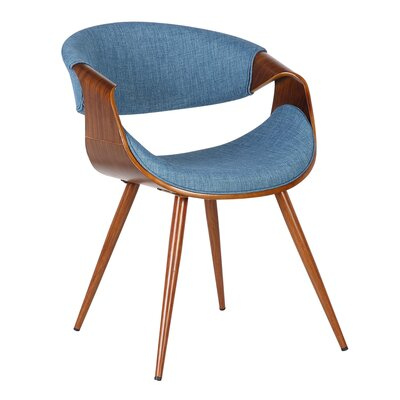 Greenhouse Arm Chair Upholstery: Blue