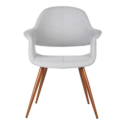 Estella Arm Chair Upholstery: Gray