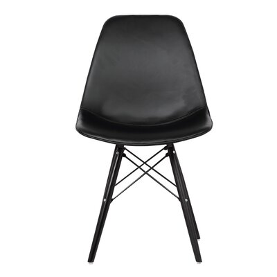 Thelonius Parsons Chair Upholstery: Black
