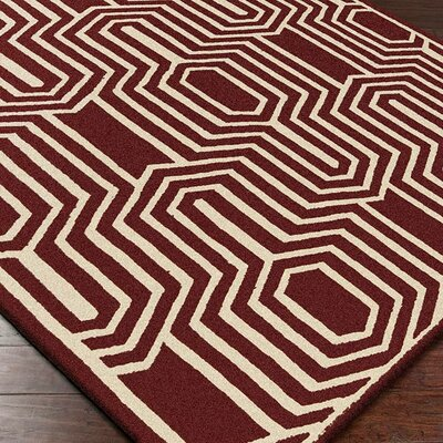 Carlton Geometric Area Rug Rug Size: Rectangle 5 x 8