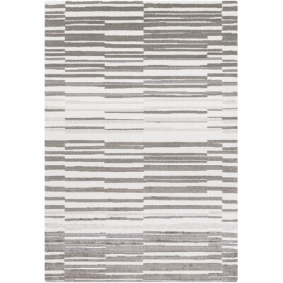 Sky Ivory/Grey Area Rug Rug Size: Rectangle 5 x 8