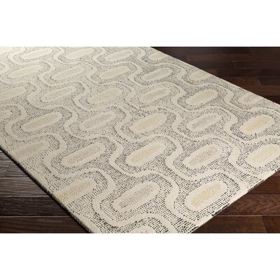 Duane Hand-Tufted Neutral/Gray Area Rug Rug Size: 2 x 3