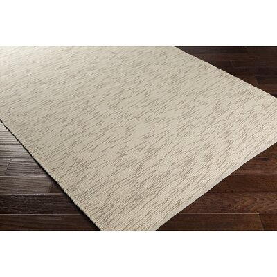 Malaga Hand-Woven Gray/Neutral Area Rug Rug Size: 8 x 10