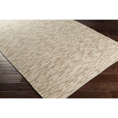 Forestport Hand-Woven Brown/Neutral Area Rug Rug Size: Rectangle 4 x 6