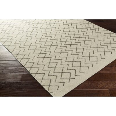 Lockhart Hand-Woven Brown/Neutral Area Rug Rug Size: 2 x 3