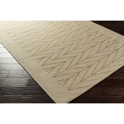Esopus Hand-Woven Brown/Neutral Area Rug Rug Size: Rectangle 5 x 76