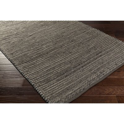 Eastchester Hand-Woven Gray/Brown Area Rug Rug Size: 2 x 3