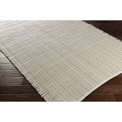 Blando Hand-Woven Neutral/Brown Area Rug Rug Size: 5 x 76