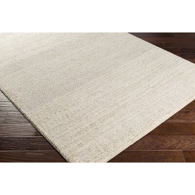 Edmeston Neutral/Gray Area Rug Rug Size: Rectangle 8 x 10