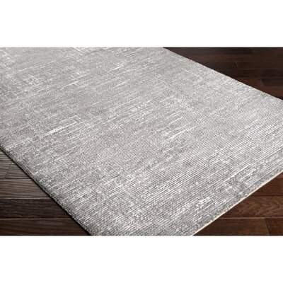 Sky Gray/Neutral Area Rug Rug Size: Rectangle 5 x 8